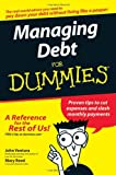 img - for Managing Debt For Dummies book / textbook / text book