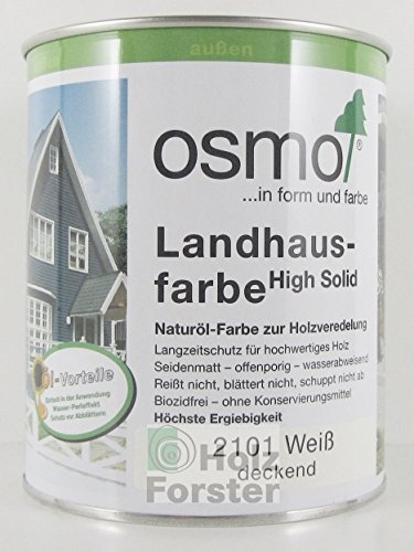 osmo landhausfarbe wei 750 ml. Black Bedroom Furniture Sets. Home Design Ideas