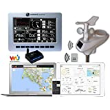 Ambient Weather WS-1200-IP Observer Solar Powered Wireless Internet Remote Monitoring Weather Station