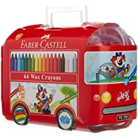 Faber-Castell Wax Crayon - 64 Shades