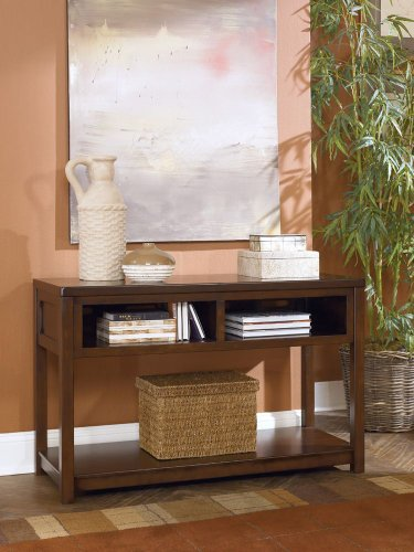 Cheap Kayden Medium Brown Sofa Console Table (T548-4)