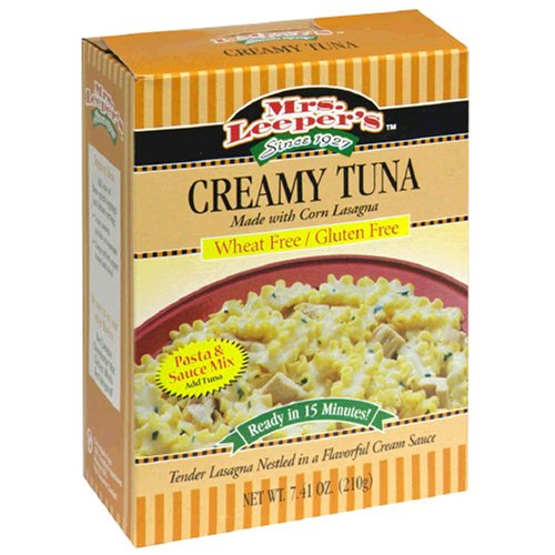Mrs. Leeper's Creamy Tuna Dinner, 7.41 Ounce Boxes (Pack of 12)