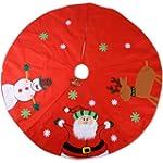"Gorgeous Festive Red Felt 48""120cm Ch..."