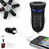 First2savvv blue LDNIO DL-C12 USB car charger travel charger power supply for CnM Touchpad 10.1 Inch 16GB Tablet CnM 9.7 Inch 8GB Touchpad Tablet CnM 9 Inch Touchpad CnM 9 Inch 16GB Touchpad Tablet CnM Touchpad 7 Inch 16GB Tablet CnM 7 Inch 8GB Touchpad - 8GB CnM 7DC-8 7 Inch Touchpad Tablet - 8GB