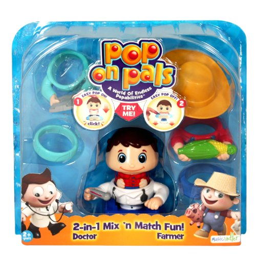 Pop On Pals - Figure Farmer / Doctor - 1