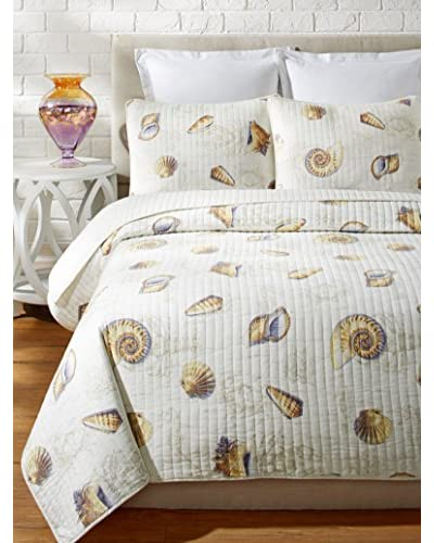 Tommy Bahama Kemps Bay Prewashed Quilt Set
