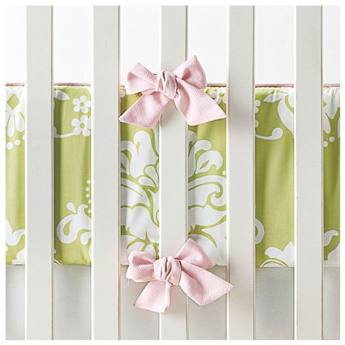 Serena & Lily Kate Crib Bumper- Sprout - 1