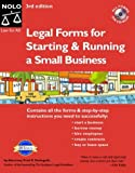 "Legal Forms for Starting & Running a Small Business ""With CD"""