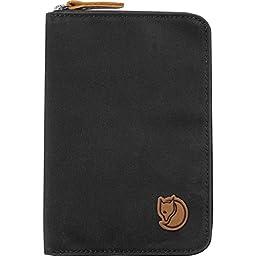 Fjallraven Passport Wallet, Dark Grey
