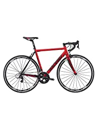 Raleigh Militis Elite Road Bike in Red and Black 57cm, Red and Black