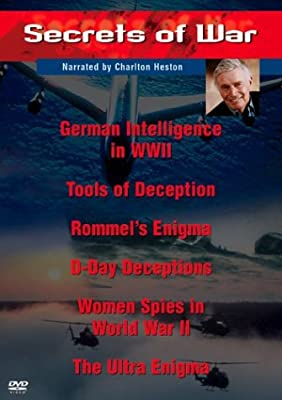 Secrets of War Collection (2-Disc Set) - German Intelligence in WWII / Tools of Deception / Rommel's Enigma / D-Day Deceptions / Women Spies in World War II / The Ultra Enigma