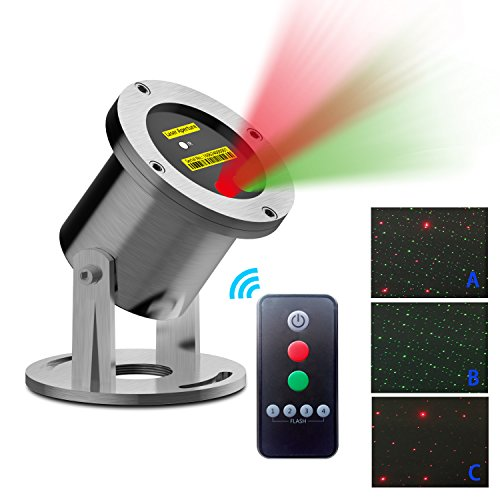 Red Green Star Outdoor Laser Light Show