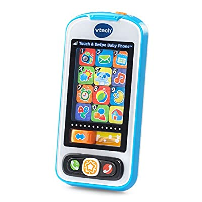 VTech Touch and Swipe Baby Phone - Blue - Online Exclusive by VTech that we recomend personally.