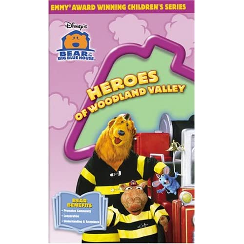 Amazon.com: Disney's Bear In The Big Blue House