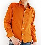 (アーケード) ARCADE 18color 選べる長袖と7分袖/製品染めブロードシャツ 7分袖シャツ 長袖シャツ メンズ