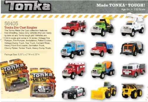 Tonka Metal Die Cast Bodies Heavy Dump Truck by Reeves Int - 1