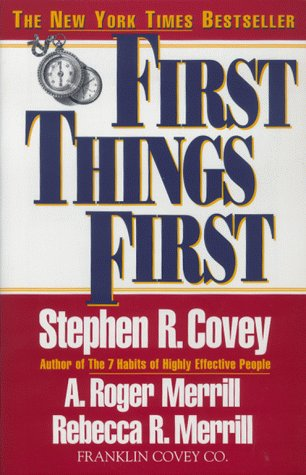 Image for First Things First
