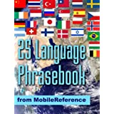 FREE 25 Language Phrasebook from Mobile Reference (Mobi Travel) ~ MobileReference
