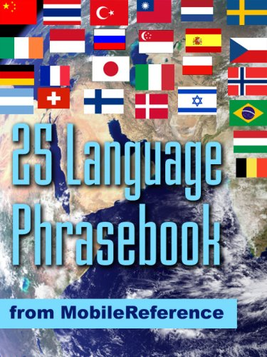 FREE 25 Language Phrasebook from Mobile Reference (Mobi Travel)