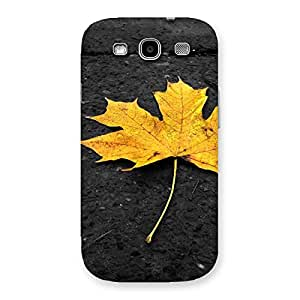 Special Yellow Lovely Leaf Back Case Cover for Galaxy S3 Neo