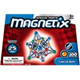 Magnetix 25CT Coloured Balls & Barsby Mega Bloks