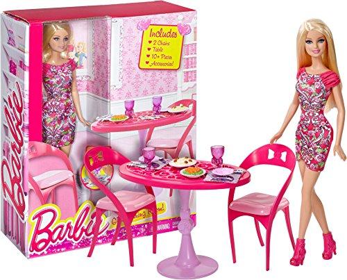 Barbie 12quot Glam Dining Room Set Barbie Home Furnishing  : 51FPa9KmIUL from www.bta-mall.com size 500 x 403 jpeg 61kB