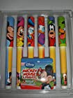Disney Mickey Mouse & Friends Black Ink Pens Set of 6 (2 Packs - 12 Pens)