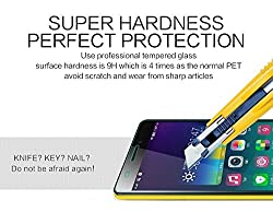 ShopAIS Tempered Glass Screen Protector for Lenovo A7000 (Clear)