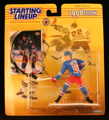 NHL Starting Lineups 1998 Wayne Gretzky New York Rangers