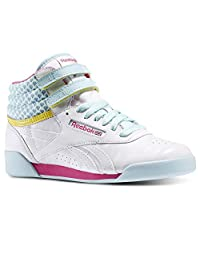 Reebok V63067 Juniors Freestyle Hi Shoe