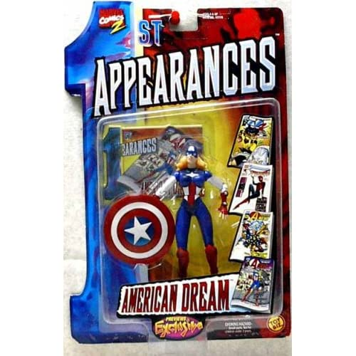 Marvel Comics: 1st Appearances > American Dream action figure