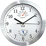HITO Modern Colorful Silent Non-ticking Wall Clock- 10 Inches (T&H-white)