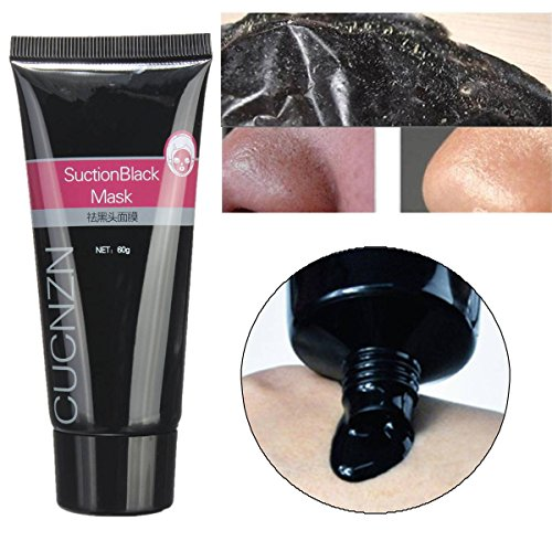 LUCKYFINE 60g Mitesser Entferner Gesichtsmaske Mud Suction Deep Clean Pore Acne Peel Purifying Black Head Peel off Maske anti Akne