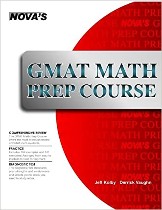 GMAT Math Prep Course eBook