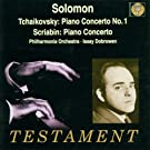 Solomon / Tchaikovski : Concerto Pour Piano N 1 Op.23 - Scriabine : Concerto Pour Piano Op.20