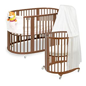 Stokke Sleepi System, Walnut Brown