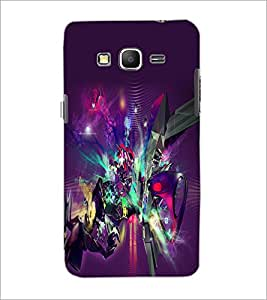 PrintDhaba Digital Abstract D-2062 Back Case Cover for SAMSUNG GALAXY GRAND PRIME (Multi-Coloured)