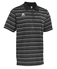 Russell Athletic Men's Striped Golf Polo