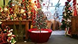 Original Snowing Christmas Tree - 4.5 feet - Red Base