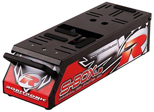 Robitronic R06011 - Cassetta di avviamento automobiline a scoppio S-Box LB, 550 Universal, per modellini in scala 1:8 e 1:10