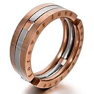 """JBlue Jewelry Men's """"Forever Love"""" St…"""