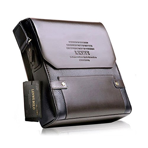 Vktech� Classical Model of Single Shoulder Business Bag Cool PU Leather Mens Briefcase