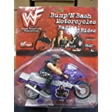 WWF Bump 'N Bash Motorcycle Radical Rides Undertaker by Toy Island 1998