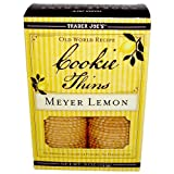 Trader Joes Meyer Lemon Cookie Thins 9oz(255g)
