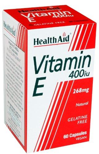 HealthAid Vitamin E 400iu - 60 Vegicaps