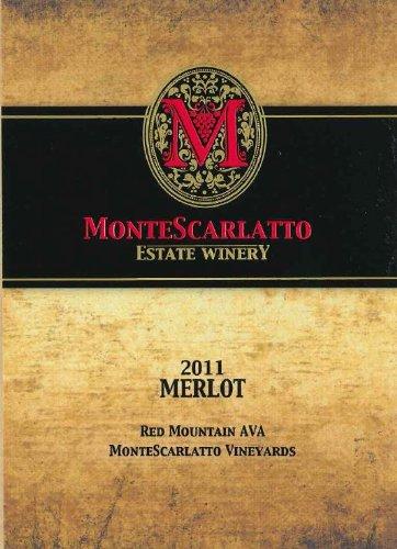 2011 Montescarlatto Red Mountain Merlot 750 Ml