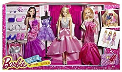 Barbie Fashions, Multi Color