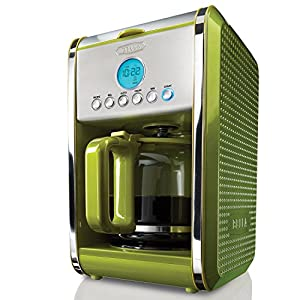 Red Bella 13912 Dots Collection 12-Cup Programmable Coffee Maker - Green by Red Bella