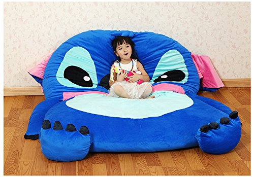 cute-cartoon-lilostitch-image-sleeping-bag-sofa-bed-twin-bed-double-bed-mattress-for-kids