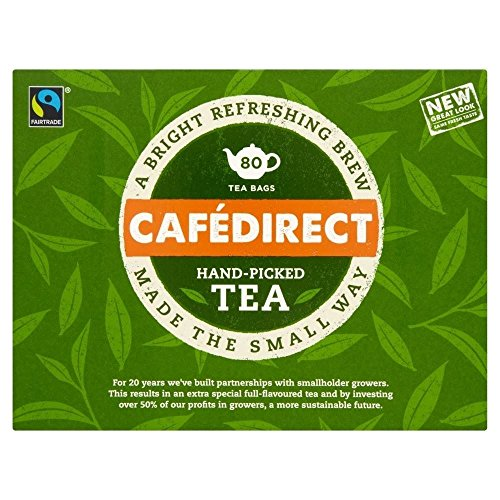 Cafédirect Everyday Teadirect Fairtrade Tea Bags (80)